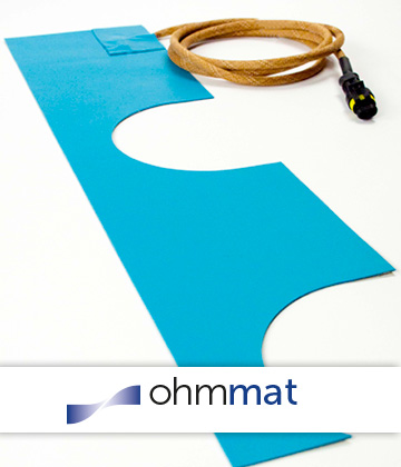 ohmvo flexible heating mats
